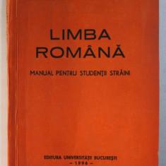 LIMBA ROMANA - MANUAL PENTRU STUDENTII STRAINI - ANUL PREGATITOR - SEMESTRUL I de GRIGORE BRANCUS ...MANUELA SARAMANDU , 1996