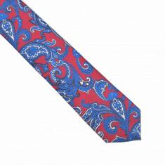 Cravata rosie paisley Arvin