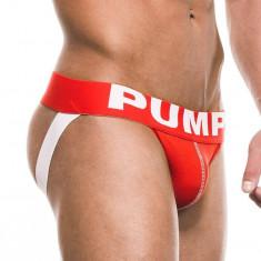 Suspensori / Jockstrap PUMP! Red Jock marimea M (produs original)