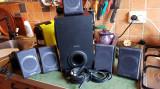 Boxe 5.1 creative labs Inspire P580 cu placa de sunet SB audigy