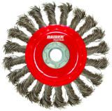 Perie circulara cu toroane semideschisa 100 mm pentru flex
