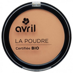 Pudra compacta bio Golden Avril