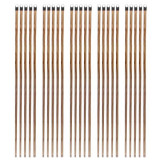 25 x Coada din lemn lacuit, Cu filet pentru Matura, Mop, 120cm, Maturi manuale