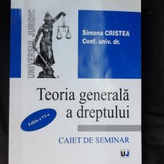 TEORIA GENERALA A DREPTULUI SIMONA CRISTEA