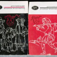 Simplicius simplicissimus de grimmelshausen bpt 2 volume