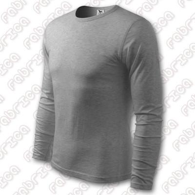Tricou mânecă lungă Slim FIT - bumbac 100% foto