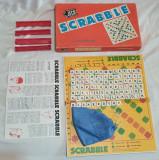 Jucarie veche comunista - Joc Romanesc complet - Joc de colectie  SCRABBLE 1980