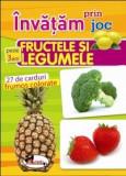 Invatam prin joc fructele si legumele pentru + 3 ani. Carti de joc educative |