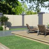 VidaXL Panou de gard pentru grădină, 1,7 x 1,7 m