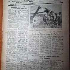 sportul popular 23 aprilie 1953-40000 spectatori la fotbal dinamo-CCA 2-1