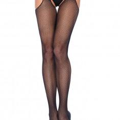 Dresuri Decupate Model Plasa Plus Size, Negru