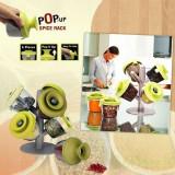 Cumpara ieftin Suport condimente Pop-Up Spice Rack cu 6 recipiente