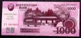 COREEA DE NORD North Korea 1000 1.000 Won 2018 COMEMORATIVA UNC necirculata **