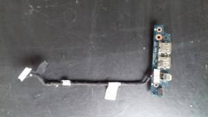 Modul USB si Firewire cu cablu Dell Vostro 1710 1720 (N820f)