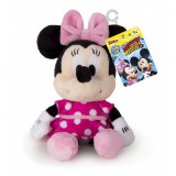 Jucarie Minnie Mouse de plus, 17 cm, sunete