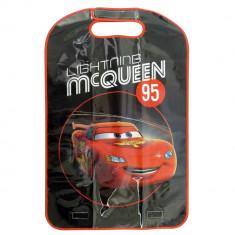 Protectie scaun auto Disney Cars Formula Racer, 70x45cm Kft Auto