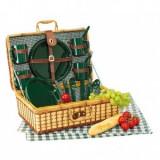 Cumpara ieftin Cos picnic Green Park, Set vesela, Bremen