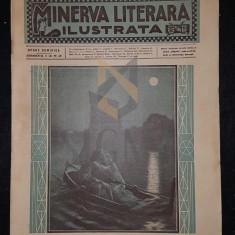 CHENDI ILARIE & LOCUSTEANU P., MINERVA LITERARA ILUSTRATA (Revista Literara Saptamanala), Anul I, Numarul 5, 1909, Bucuresti