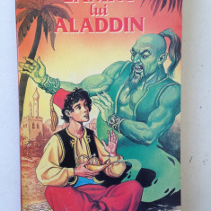 Lampa lui Aladdin/o mie si una de nopti/carte povesti copii/1997