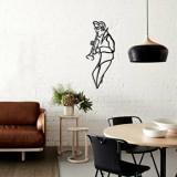 Cumpara ieftin Decoratiune pentru perete, Pirudem, metal 100 procente, 30 x 70 cm, 826PIR2072, Negru