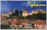 Carte postala CP MS073 Sighisoara - Orasul vechi - necirculata