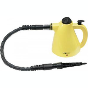 Clatronic DR 2930 Steam cleaner 283009 1000 W Yellow, Black