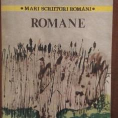 Romane – Mihail Sadoveanu