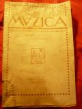 Revista Muzica -sept.1922 an4-nr5 ,15pag ,Coperta 2 semnata Poitevin-Skeletti