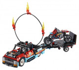 Lego Camion È™I Motocicletäƒ Pentru Cascadorii