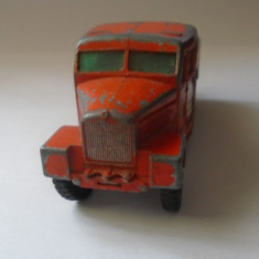 bnk jc Matchbox K-8 King Size Scammel 6x6 tractor