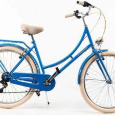 Bicicleta Dama DHS Citadinne 2634 (Albastru)