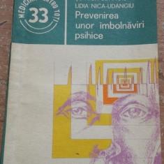 Prevenirea unor imbolnaviri psihice St. Nica Udangiu