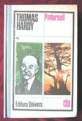 """""""PADURENII"""", Thomas Hardy, 1981. Cartonata foto"""