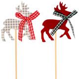 Scobitori decorative cu Reni, Amscan 552259, Set 3 buc