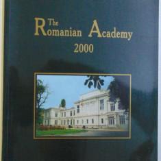 THE ROMANIAN ACADEMY 2000, 1999
