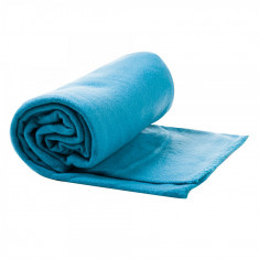Patura fleece Maxtar, 130 x 170 cm, poliester, 180 gsm, Albastru