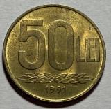 50 Lei 1991 Romania, UNC, Luciu de batere