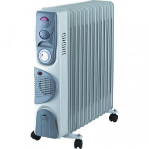 Calorifer electric 13 elementi 2900W (ventilator, termostat, timer) functie TURBO