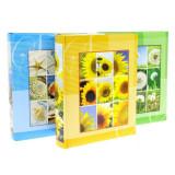 Album foto bloom, 100 fotografii, format 10x15, buzunare slip-in culoare verde
