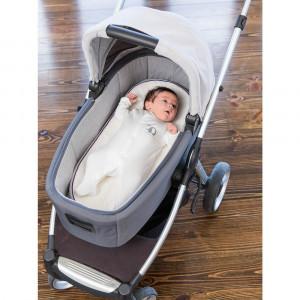 Salteluta bebelusi pentru landou 74cmx30cm Clevamama for Your BabyKids