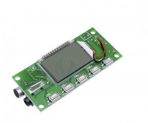 receiver transmitter dsp pll 87-108mhz lcd fm radio wireless microfon stereo