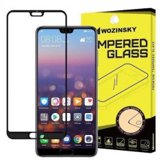 Folie Sticla Huawei P20 Pro Wozinsky 5D Full Glue Black