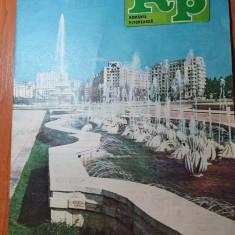 romania pitoreasca octombrie 1989-articol si foto bucuresti si iernut,sirnea