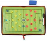 Fotbal 58 plansa magnetica antrenor, cu fermoar