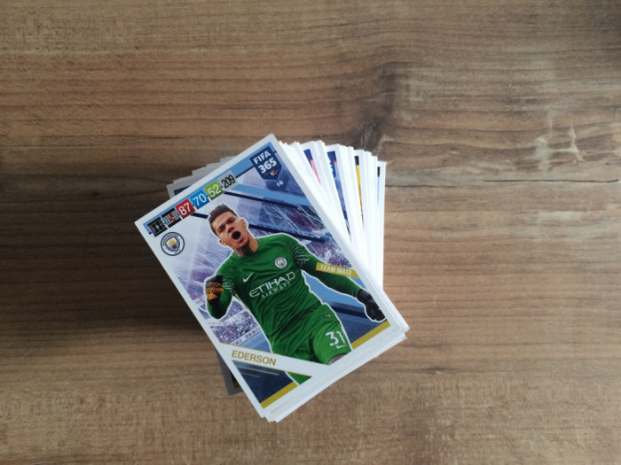 Panini FIFA 365 2019 Adrenalyn XL Set 70 carduri Team Mates diferite
