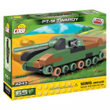 Cumpara ieftin Set de construit Cobi, Small Army, PT-91 Twardy Nano Tanc (65 pcs)
