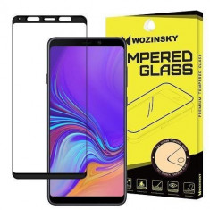 Folie Sticla Samsung Galaxy A9 2018 Wozinsky 5D Full Glue Black