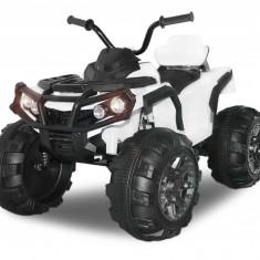 Mini ATV electric Quad Offroad cu Telecomanda STANDARD Alb