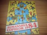 ALMANAHUL  COPIILOR  1984  (format mare, ilustratii, benzi desenate, poezii,etc)