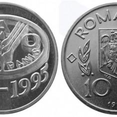 Moneda 10 lei PROOF 50 de ani de la înfiinţarea FAO